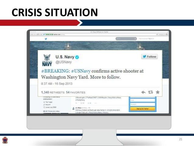 U S  Navy Social Media Landscape Overview