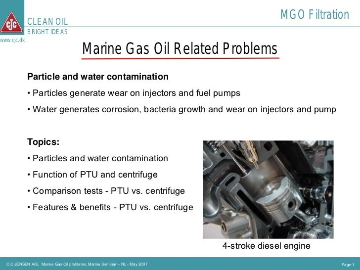 CLEAN OIL                                                                                           MGO Filtration        ...