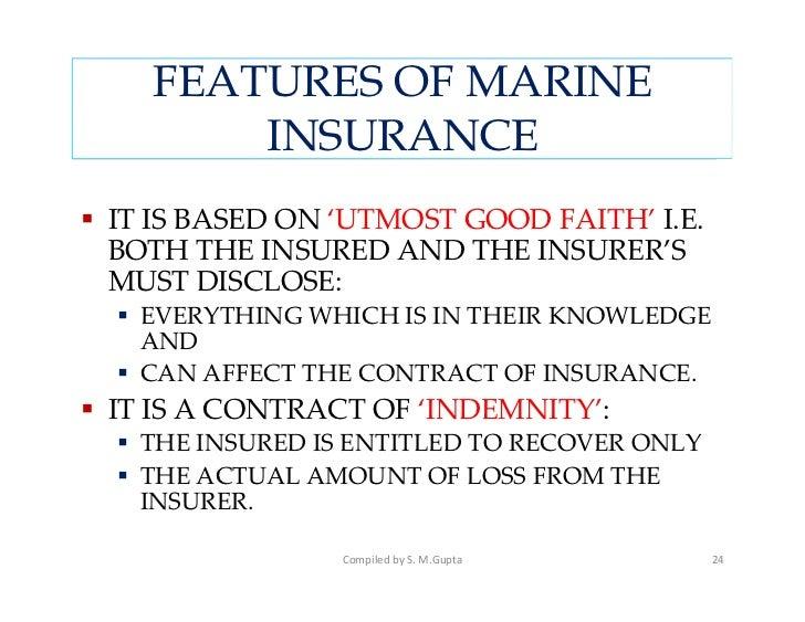 Marine Insurance Act 1963 Pdf