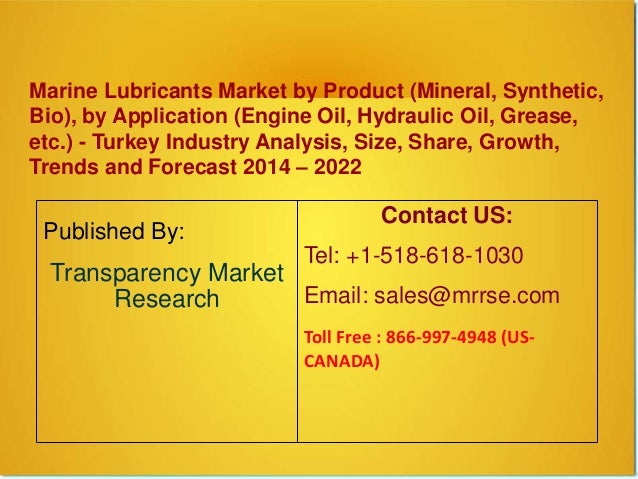 Marine Lubricants Market by Product (Mineral, Synthetic, Bio), by Application (Engine Oil, Hydraulic Oil, Grease, etc.) - ...