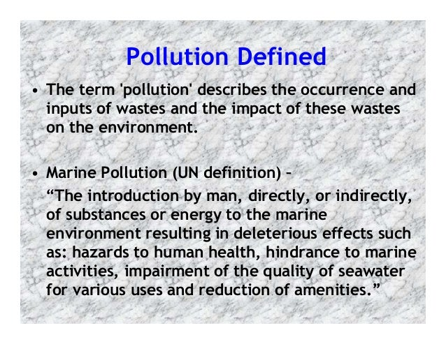 marine pollution essay Marine pollution has been a focus of sea semester student research since the early 1980s selected microplastic abundance and distribution papers and publications.