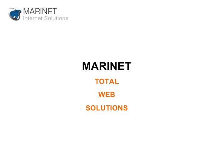 MARINET TOTAL WEB SOLUTIONS