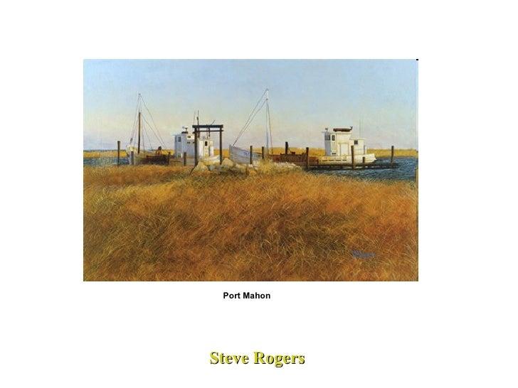 Steve Rogers Port Mahon