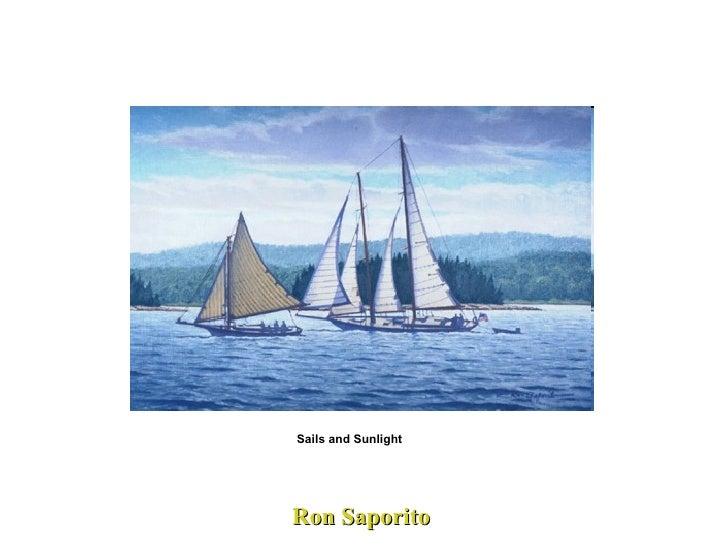 Ron Saporito Sails and Sunlight