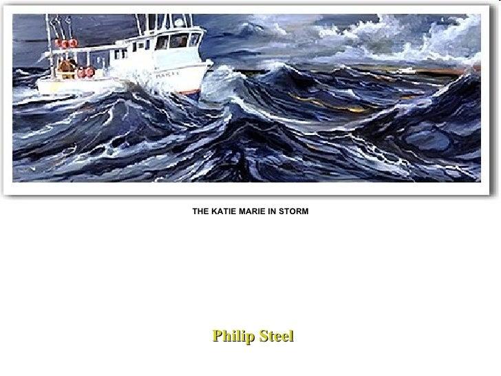 THE KATIE MARIE IN STORM Philip Steel