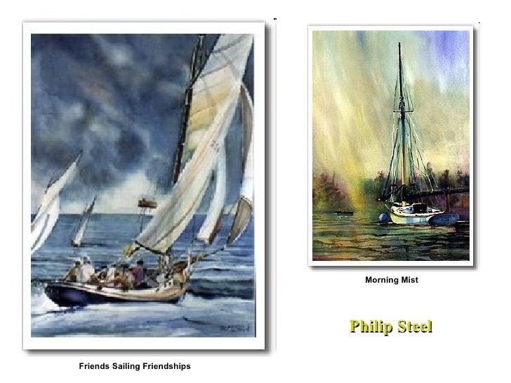 Friends Sailing Friendships Philip Steel Morning Mist
