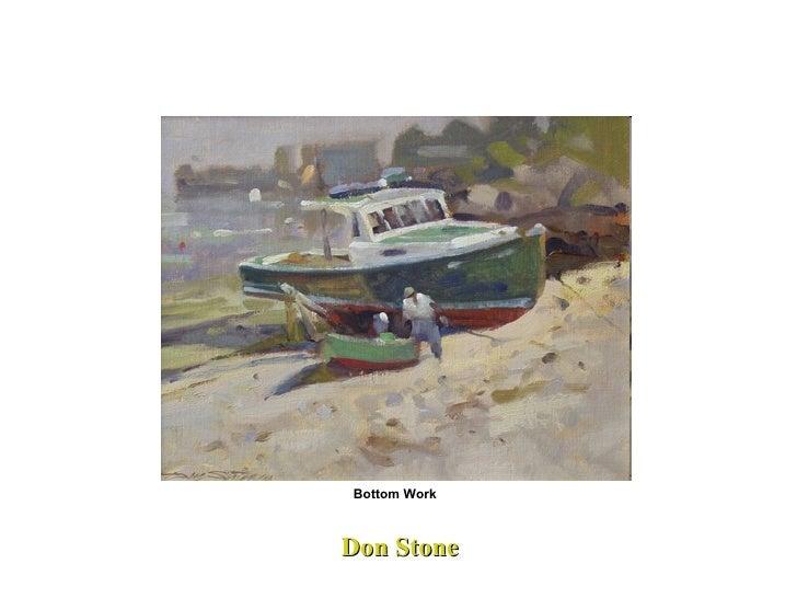 Don Stone Bottom Work
