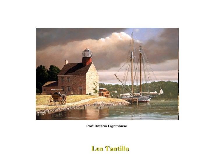 Len Tantillo Port Ontario Lighthouse