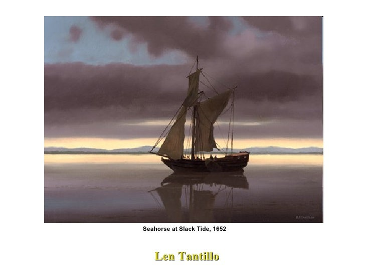 Len Tantillo Seahorse at Slack Tide, 1652