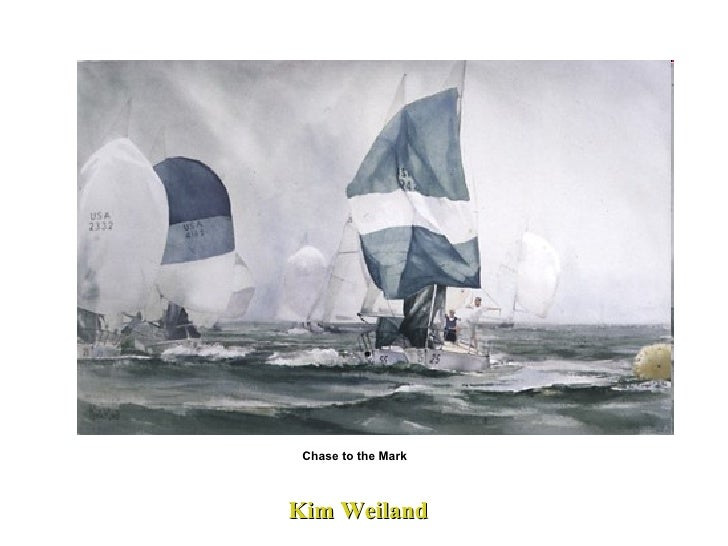 Kim Weiland  Chase to the Mark