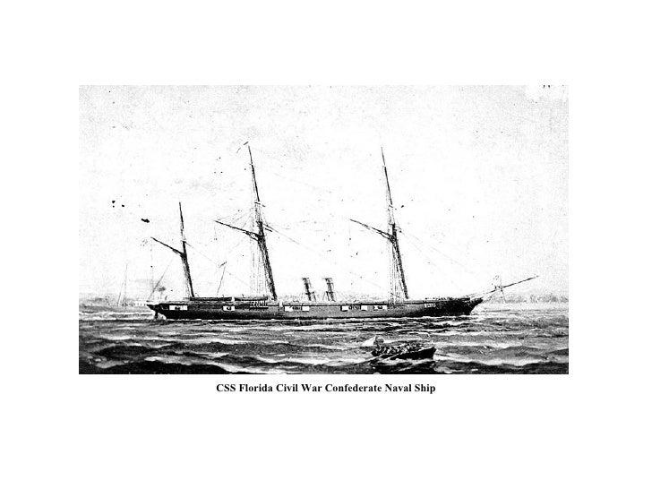 CSS Florida Civil War Confederate Naval Ship