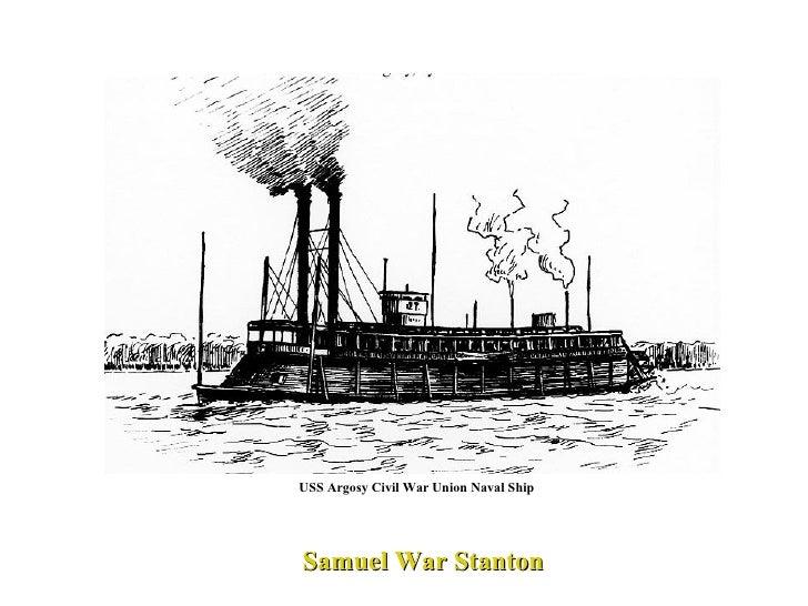 USS Argosy Civil War Union Naval Ship Samuel War Stanton