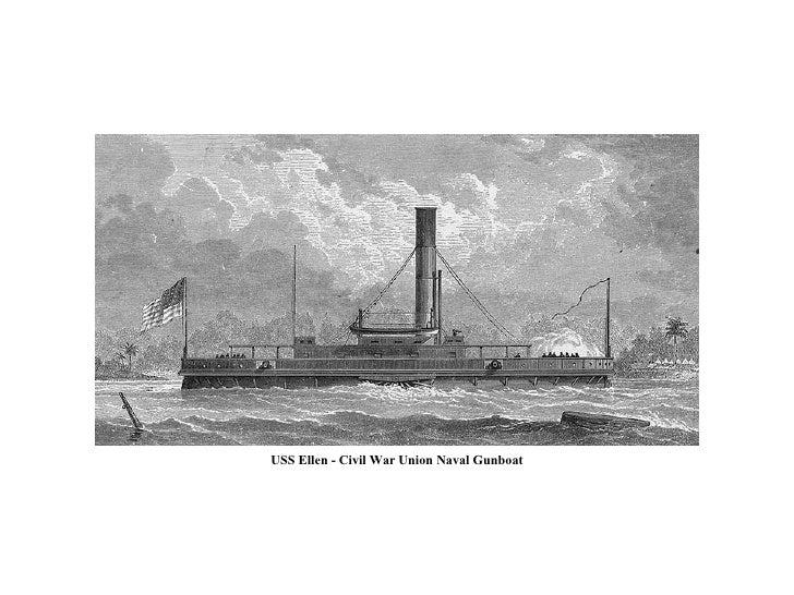 USS Ellen - Civil War Union Naval Gunboat