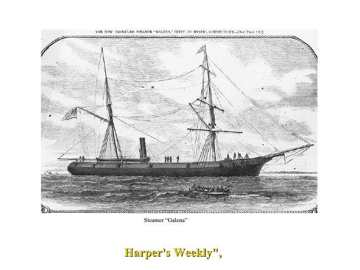 "Harper's Weekly"", Steamer ""Galena"""