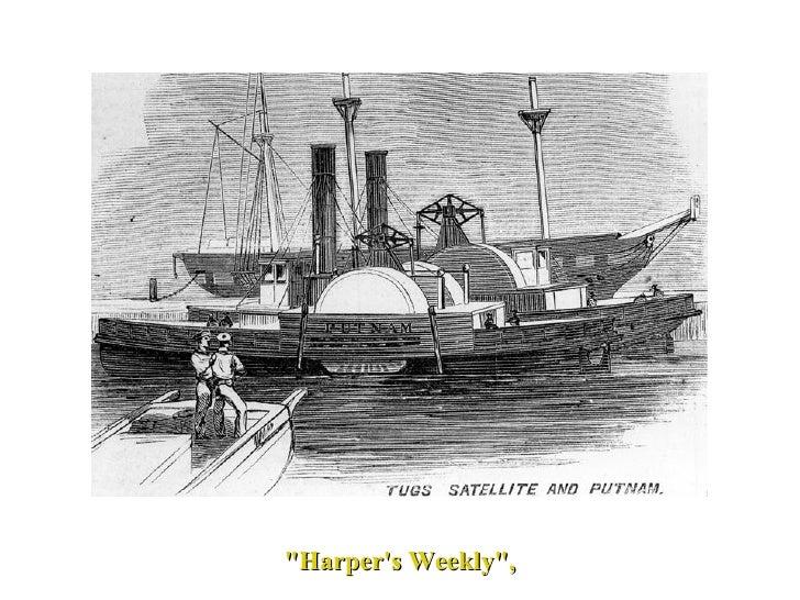 "USS General William Putnam  Civil War Union Naval Ship ""Harper's Weekly"","