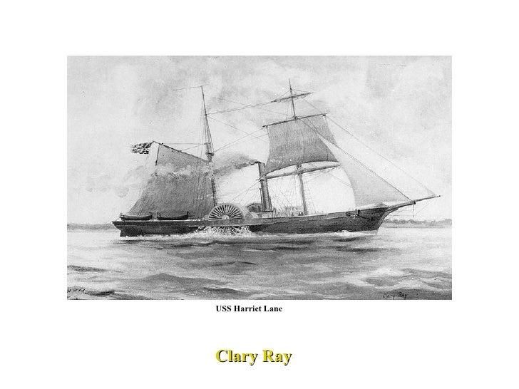 Clary Ray USS Harriet Lane