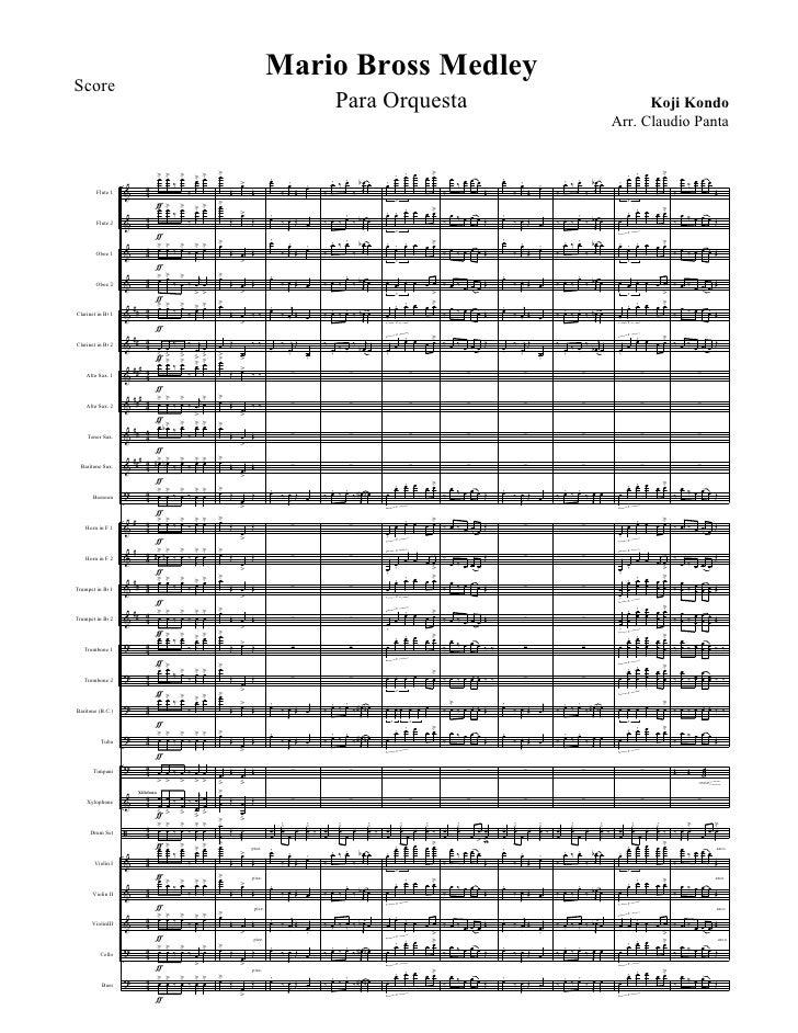 Mario Bros Orchestra - Director's Score