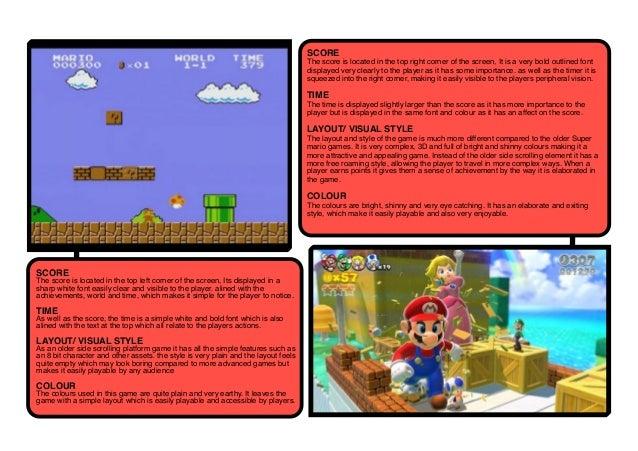 Mario comparisons
