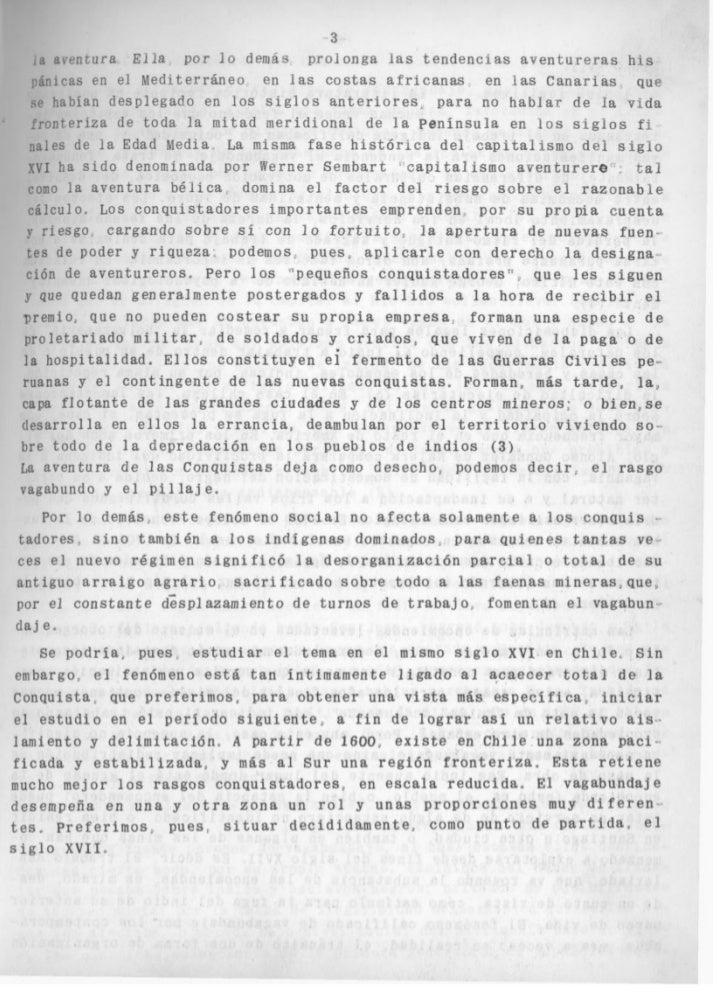 Mario góngora vagabundaje y sociedad fronteriza en chile