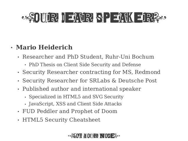 mario heiderich thesis