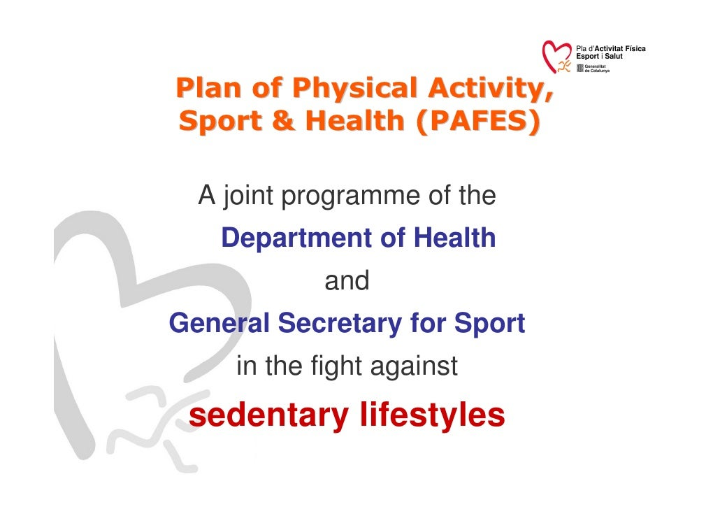 WHO launches Global Action Plan on Physical Activity