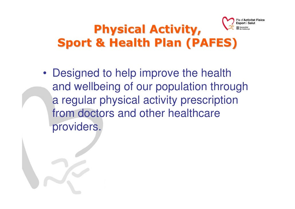 Plan for a physical activity wednesday