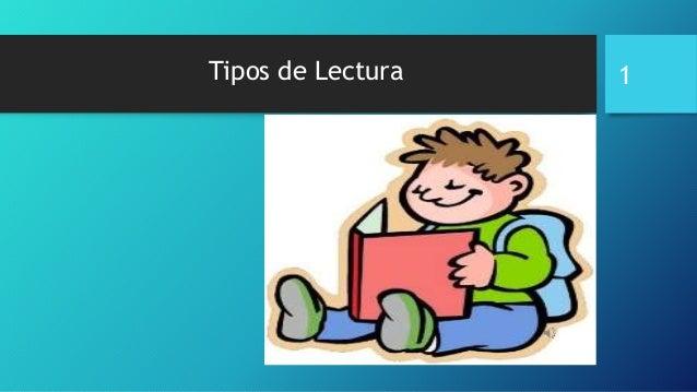 Tipos de Lectura 1