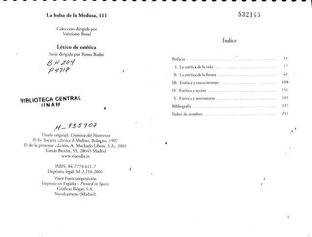 Mario perniola la estetica del siglo xx completo Slide 2