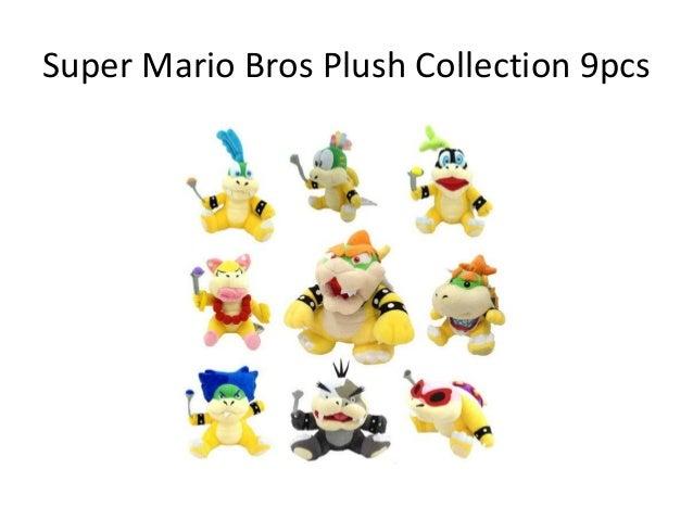 Advice on Super Mario Plush Collection 2017 ? Slide 3