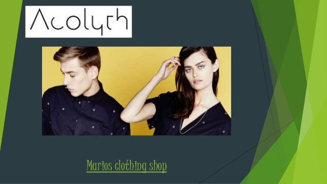 Marios clothing shop