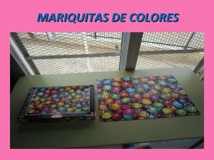 MARIQUITAS DE COLORES