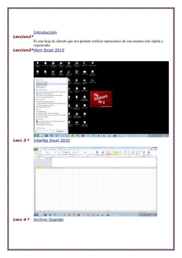 Leccion1ª Introducción Es una hoja de cálculo que nos permite realizar operaciones de una manera más rápida y organizada L...