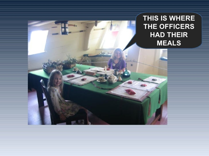 THIS IS WHERE THE OFFICERS HAD THEIR MEALS