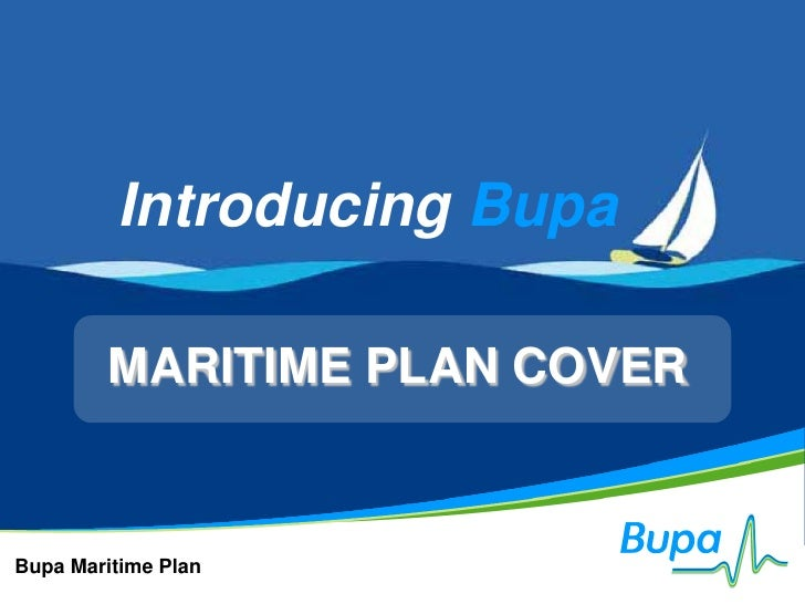 Maritime Medical Insurance by Bupa 2011