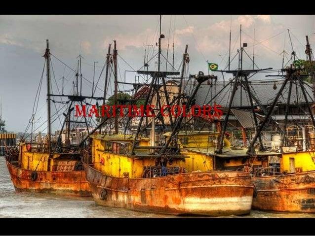 Maritime colors