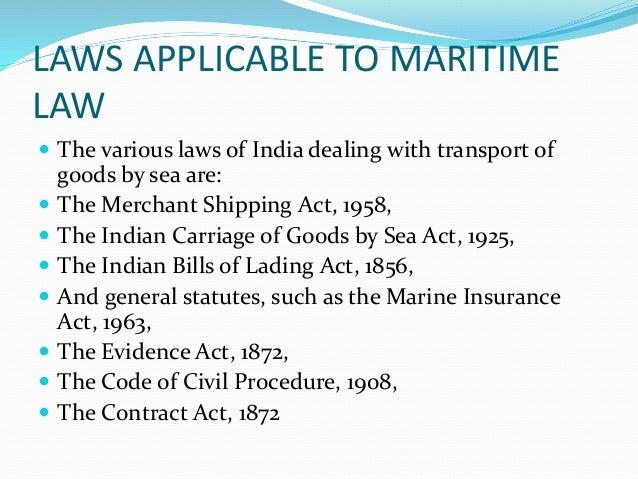 Indian Bills Of Lading Act 1856 Pdf