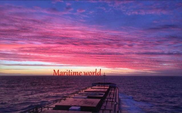 Maritime world