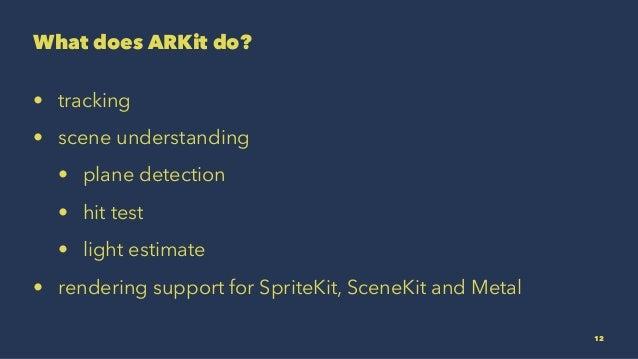 Enhance your world with ARKit  UA Mobile 2017