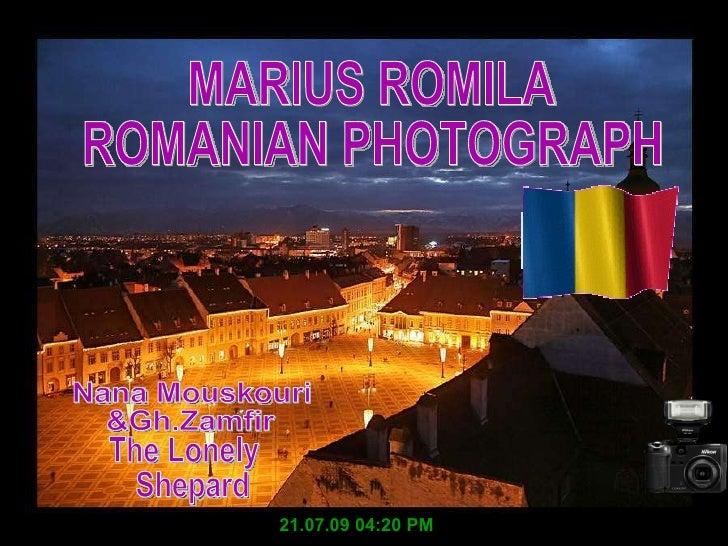 MARIUS ROMILA ROMANIAN PHOTOGRAPH 21.07.09 04:20 PM Nana Mouskouri  &Gh.Zamfir The Lonely Shepard
