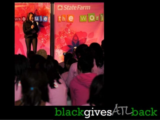 Established in 2007, BlackGivesBack.com is the premier online destination for African American philanthropy. Publisher: Tr...