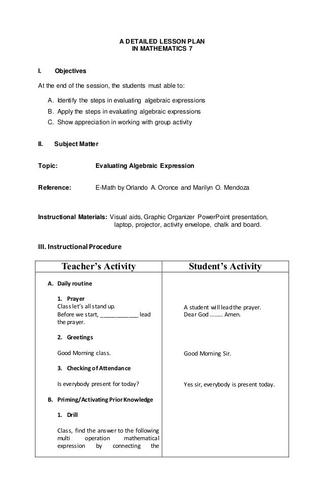 math lesson plan Taylor fisher indiana wesleyan university elementary education lesson plan template mathematics 2007 acei standards readiness i goals/objectives/standard(s.