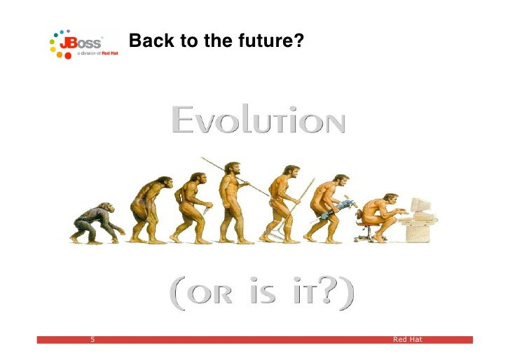 Back to the future?     5                         Red Hat