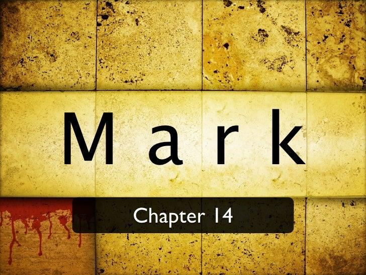 Mark  Chapter 14