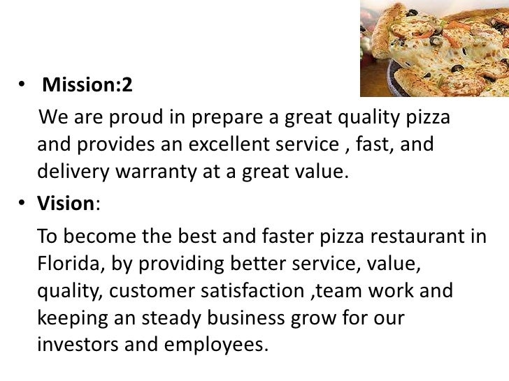 pizza hut vision statement Rave restaurant group dallas-based rave restaurant group [nasdaq: rave] owns, operates and franchises pie five and pizza inn restaurants domestically and.