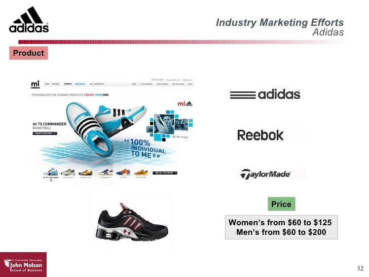 Consumer behaviour towards adidas