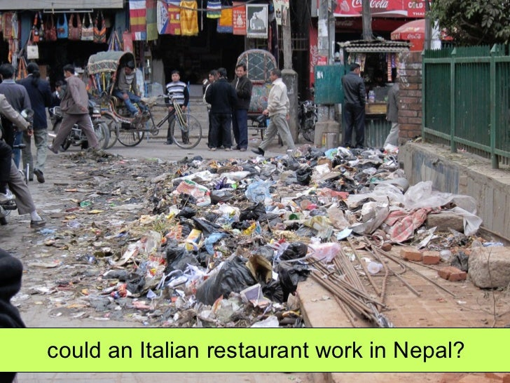 could an Italian restaurant work in Nepal?