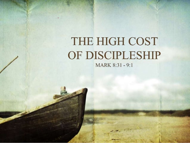 Discipleship in the gospel of mark