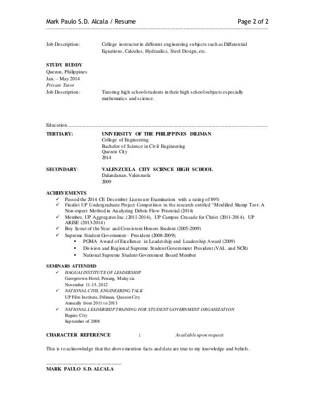 mark alcala resume  latest
