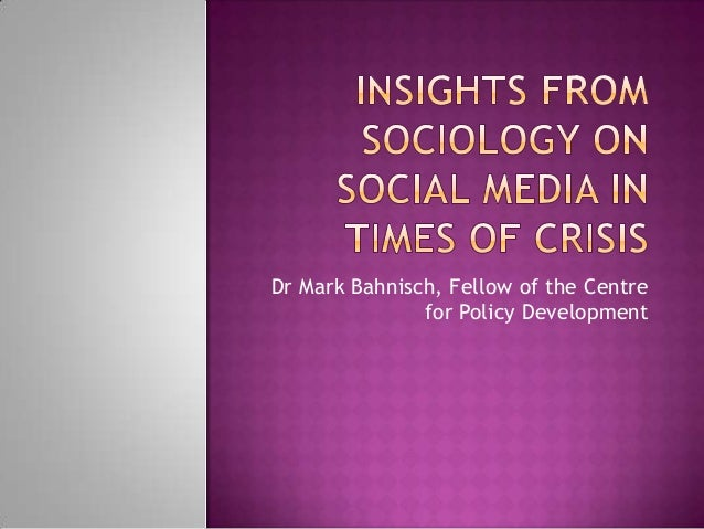 Dr Mark Bahnisch, Fellow of the Centre               for Policy Development