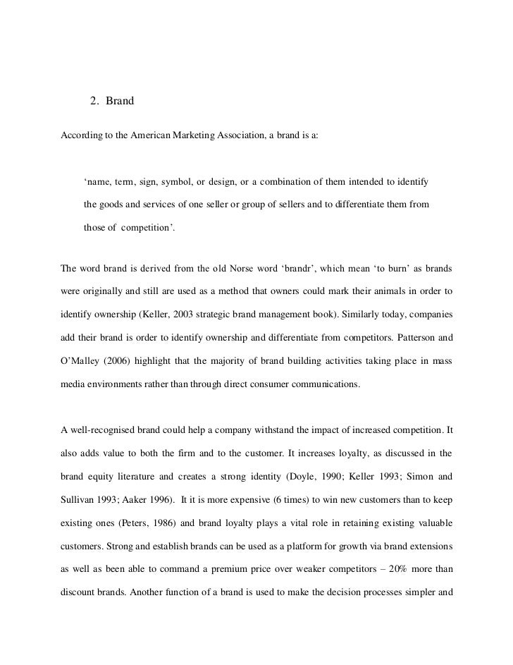 Mba thesis online